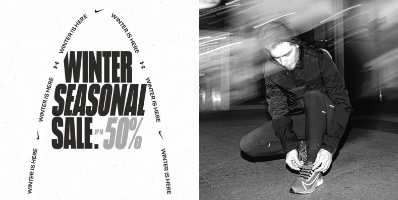 ForPro ForPro: zimowa wyprzedaż do 50% rabatu na odzież, obuwie oraz akcesoria sportowe Nike