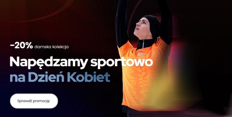 ForPro: 20% zniżki na damską kolekcję sportową Nike - promocja na Dzień Kobiet