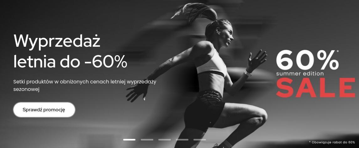 ForPro: wyprzedaż do 60% zniżki na odzież, obuwie oraz akcesoria sportowe dla biegaczy