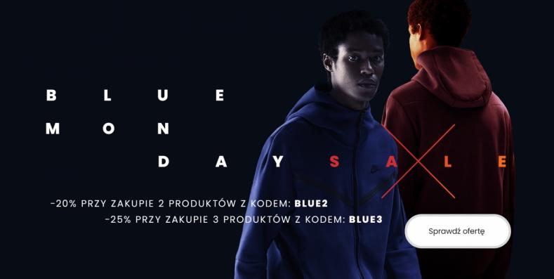 ForPro: z okazji Blue Monday do 25% zniżki na odzież, obuwie oraz akcesoria sportowe Nike