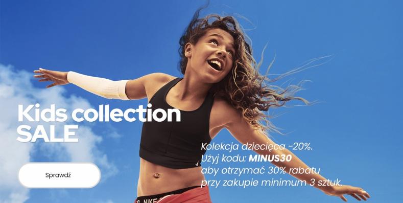 ForPro: 20% rabatu na kolekcję odzieży sportowej dla dzieci, przy zakupie min. 3 szt. 30%