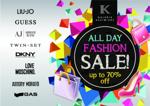 All Day Fashion Sale w galerii Kazimierz 6-7 grudnia 2014