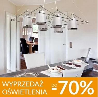 Galeria Limonka Galeria Limonka: wyprzedaż do 70% zniżki na lampy, lampki, oświetlenie