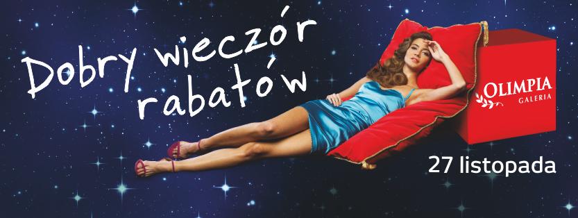 Dobry Wieczór Rabatów w galerii Olimpia w Bełchatowie 27 listopada 2015                         title=