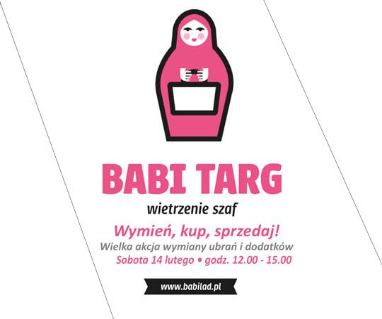 Babi Targ w galerii Przymorze w Gdańsku 14 lutego 2015                         title=