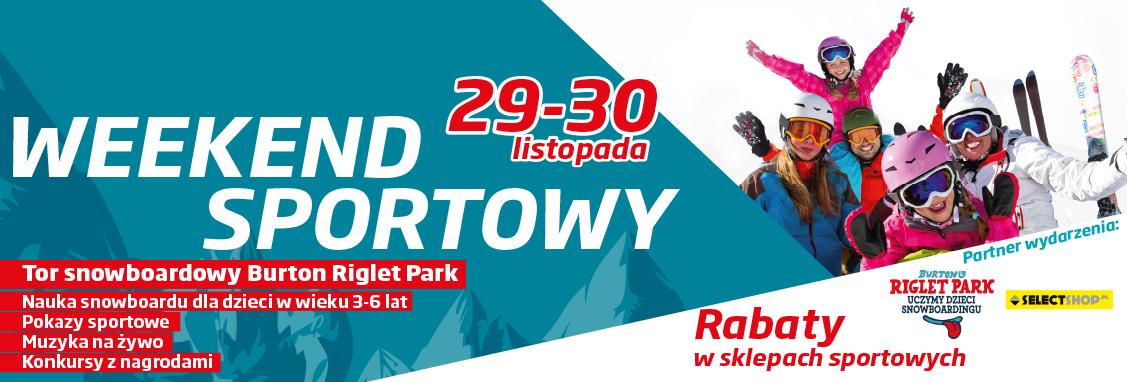 Weekend Sportowy w galerii Rzeszów 29-30 listopada 2014