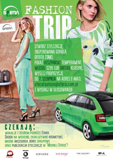 Fashion Trip w galerii Sfera w Bielsko-Białej