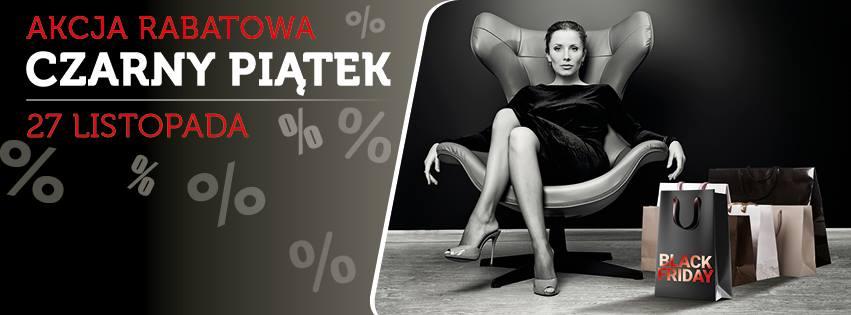 Czarny Piątek w galerii Solnej w Inowrocławiu 27 listopada 2015                         title=