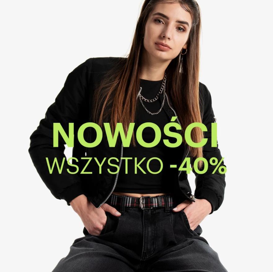Gate.Shop Gate.Shop: 40% zniżki na nowości odzieży damskiej, męskiej oraz dziecięcej
