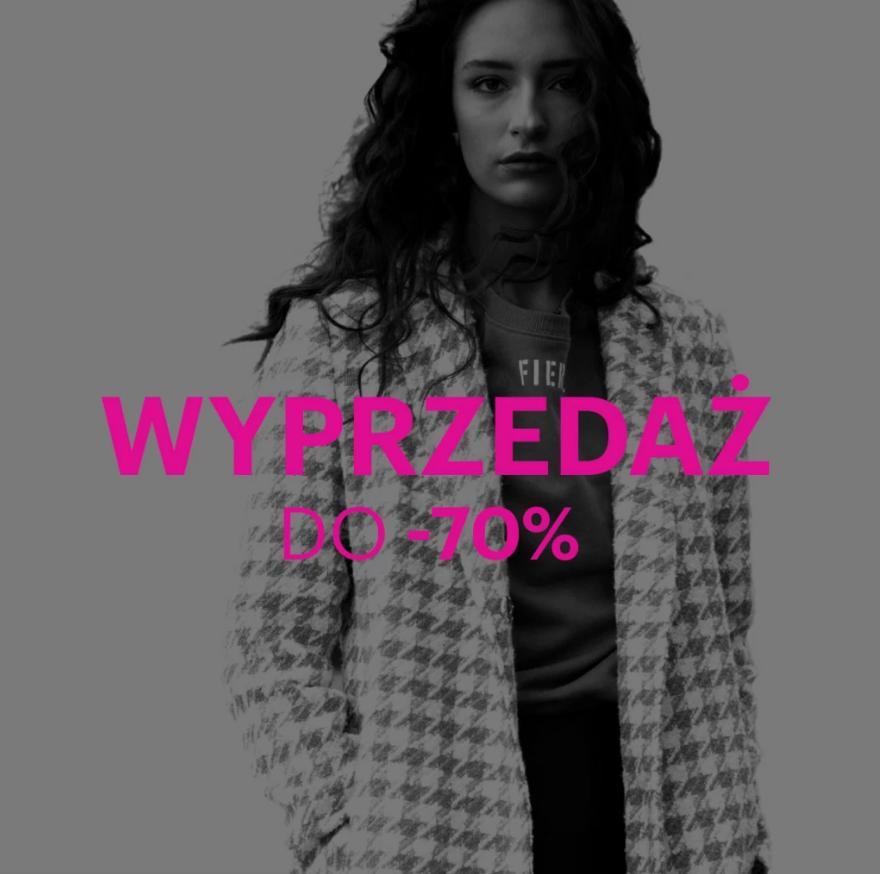 Gate.Shop Gate.Shop: wyprzedaż do 70% zniżki na odzież damską,męską oraz dziecięcą