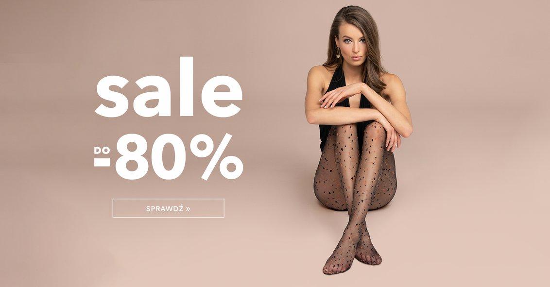 Gatta Gatta: wyprzedaż do 80% rabatu na rajstopy, pończochy, odzież i bieliznę