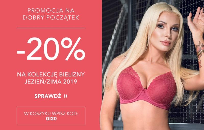 Gatta: 20% rabatu na kolekcję bielizny jesień/zima 2019