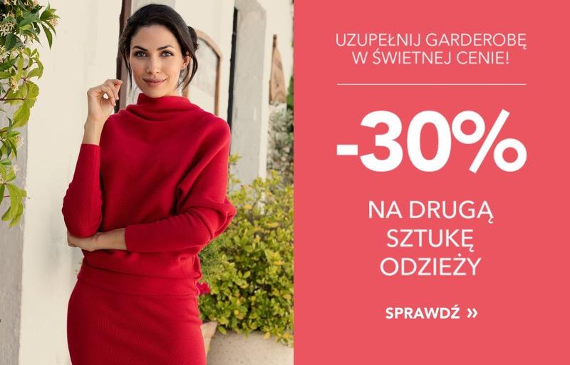 Gatta: 30% zniżki na drugą sztukę odzieży damskiej