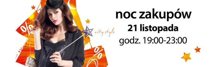 Listopadowa Noc Zakupów w Gemini Park Tarnów 21 listopada 2014