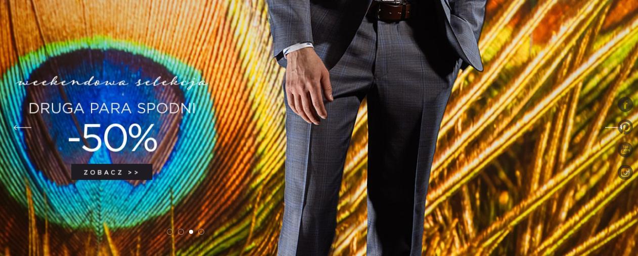 Giacomo Conti Giacomo Conti: 50% zniżki na drugą parę spodni męskich