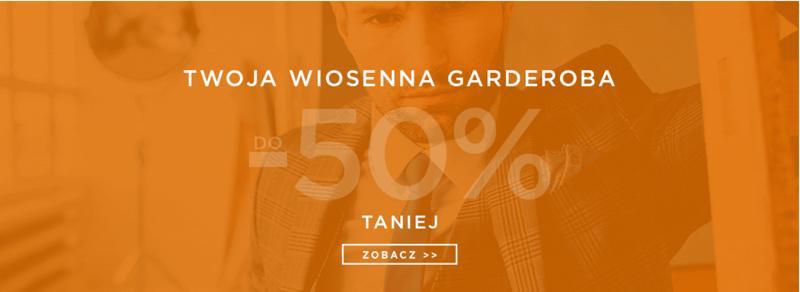 Giacomo Conti: do 50% rabatu na wiosenną kolekcję odzieży męskiej