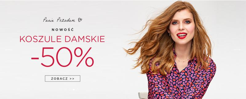 Giacomo Conti: 50% rabatu na koszule damskie