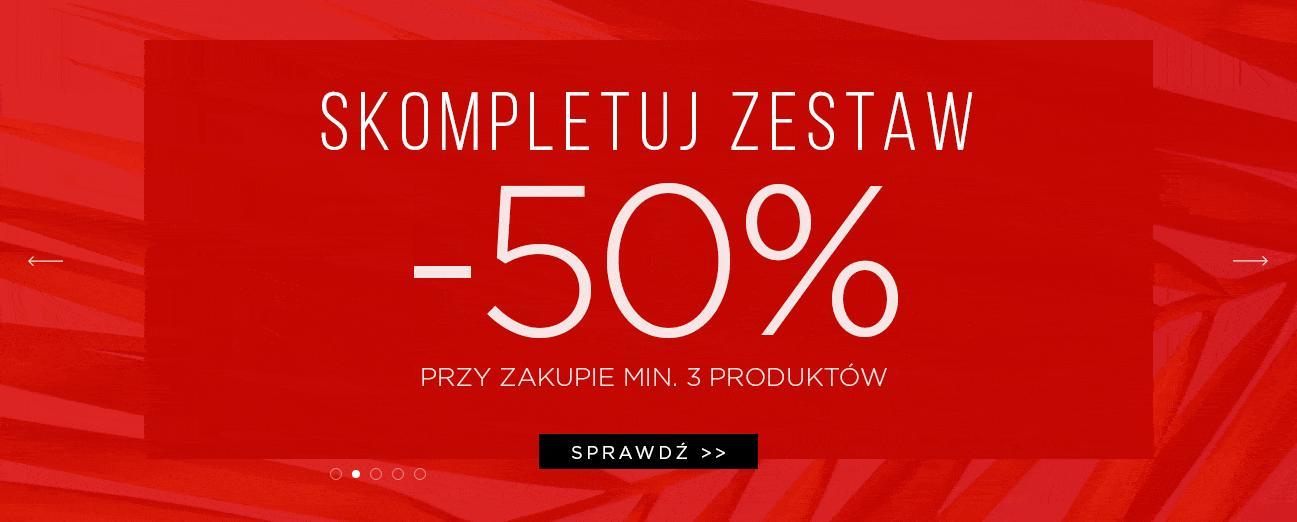 Giacomo Conti: 50% rabatu na odzież męską przy zakupie min. 3 produktów, 30% zniżki przy zakupie min. 2 produktów