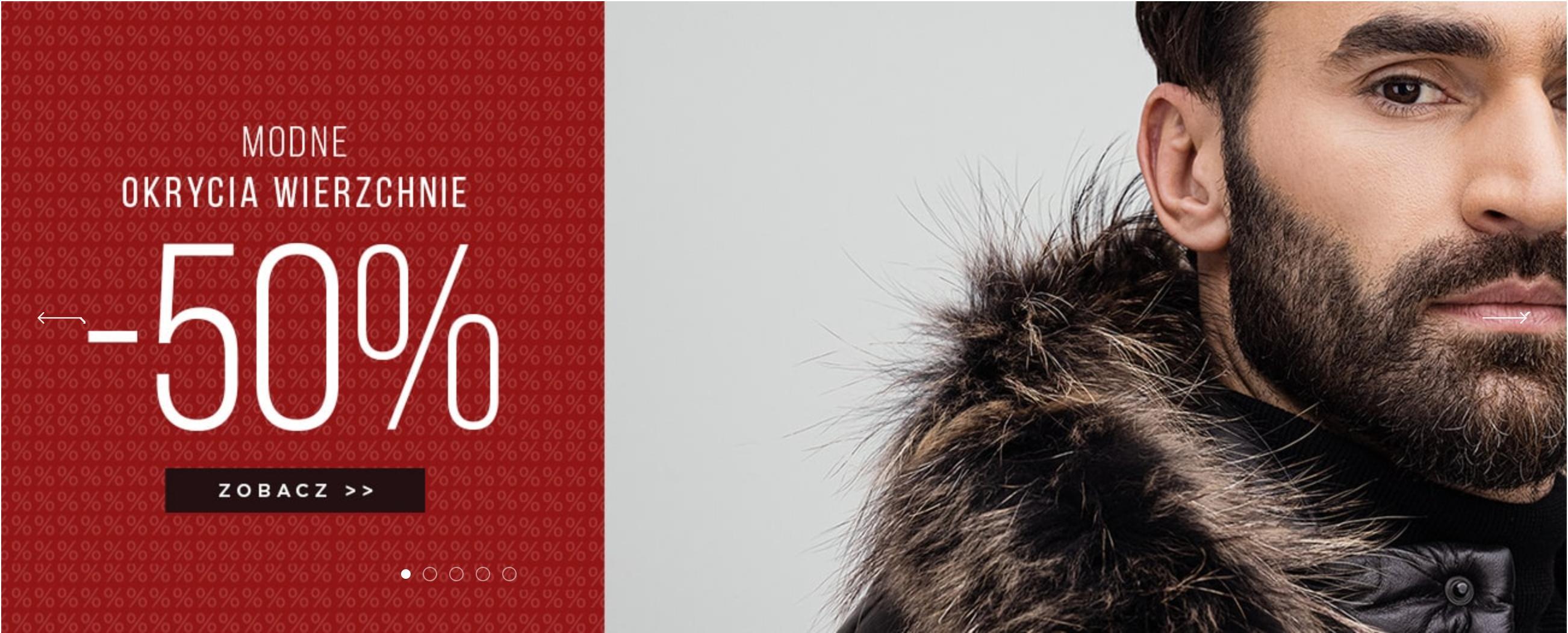 Giacomo Conti: 50% rabatu na modne okrycia wierzchnie