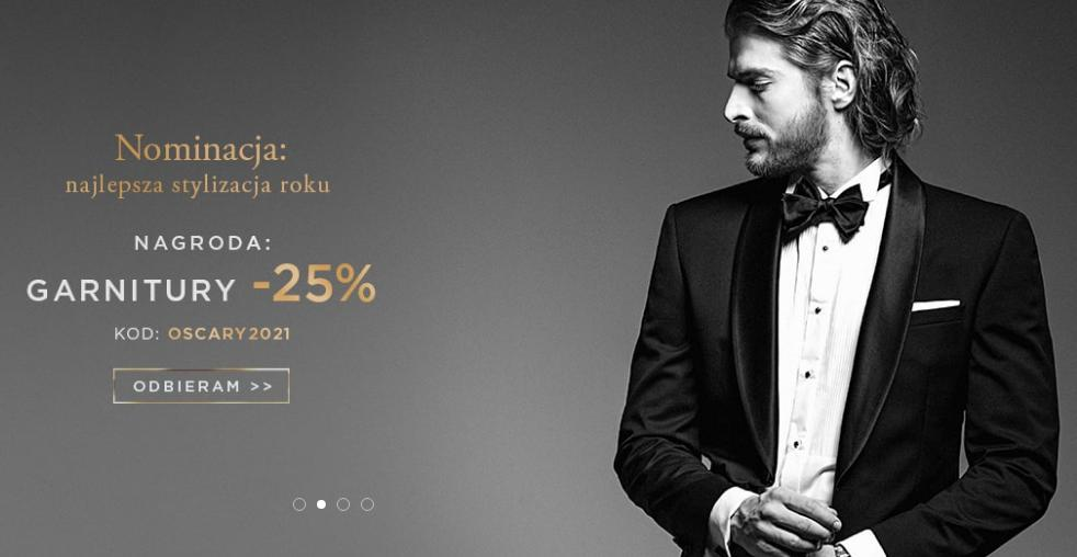Giacomo Conti: 25% zniżki na garnitury