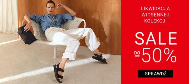 Gino Rossi: wyprzedaż do 50% zniżki na buty damskie, męskie oraz akcesoria