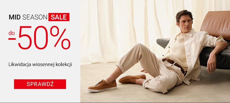 Gino Rossi: wyprzedaż do 50% zniżki na buty damskie i męskie oraz torby i akcesoria - likwidacja wiosennej kolekcji