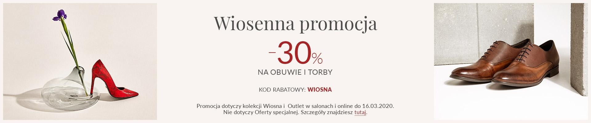 Gino Rossi: 30% zniżki na wiosenną kolekcję obuwia damskiego i męskiego                         title=