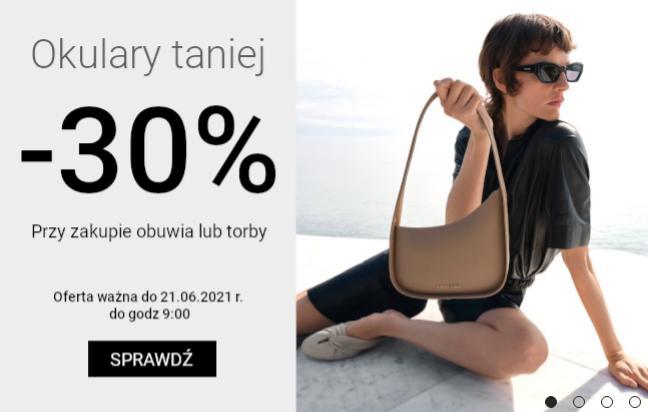 Gino Rossi: 30% zniżki na okulary przeciwsłoneczne przy zakupie butów lub torby