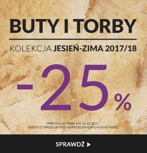 Gino Rossi Gino Rossi: 25% rabatu na buty i torby z jesiennej kolekcji