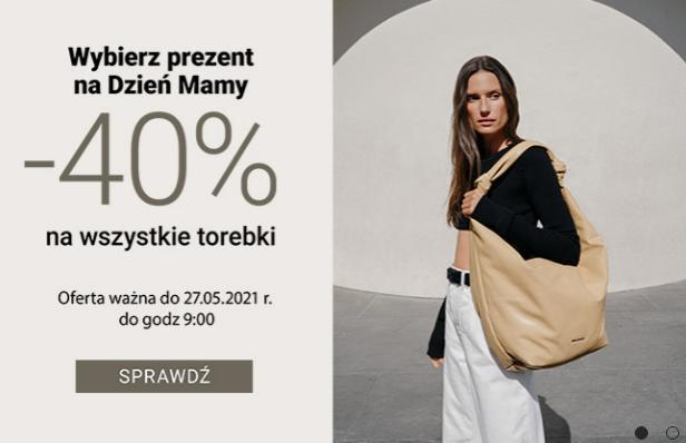 Gino Rossi: 40% rabatu na wszystkie torebki z okazji Dnia Mamy