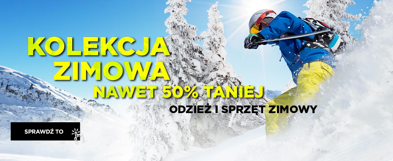 Go Sport: wyprzedaż do 50% rabatu na odzież i sprzęt zimowy