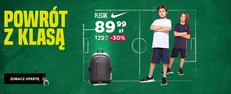Go Sport: 30% zniżki na obuwie i odzież dziecięcą oraz plecaki szkolne                         title=