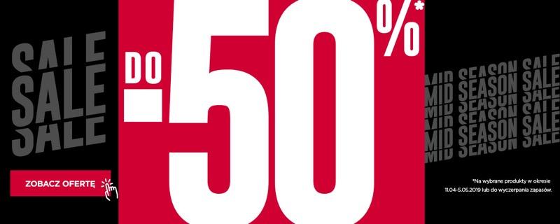 Go Sport: wyprzedaż do 50% zniżki na wybrane odzież, obuwie i akcesoria sportowe