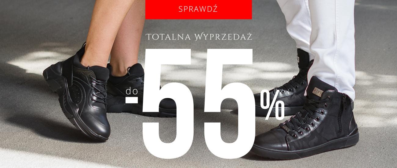 Goe: wyprzedaż do 55% rabatu na buty damskie oraz męskie