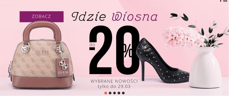 Goe: do 20% rabatu na najnowsze obuwie damskie i męskie