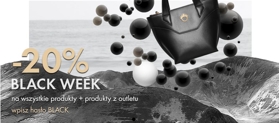 Goshico: Black Week 20% zniżki na wszystkie torebki i plecaki damskie