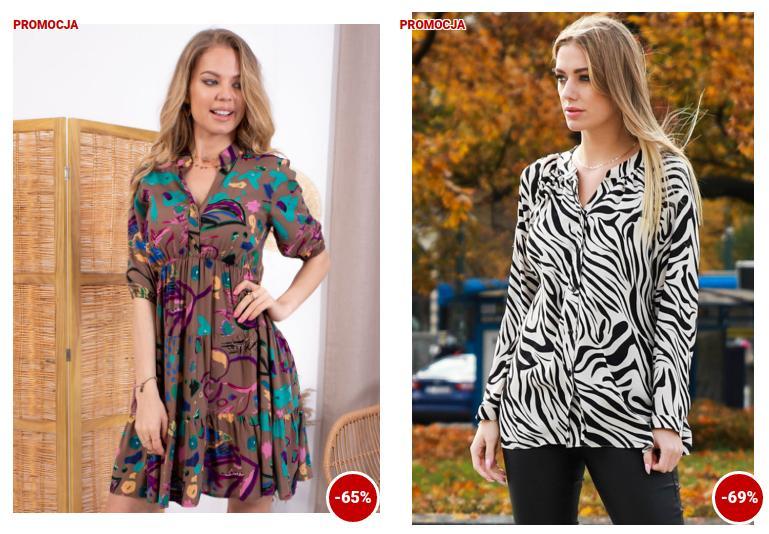 Grandio: do 70% zniżki na odzież damską od polskiego producenta