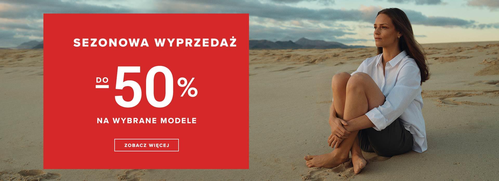 Greenpoint: wyprzedaż do 50% rabatu na odzież damską - sezonowa wyprzedaż