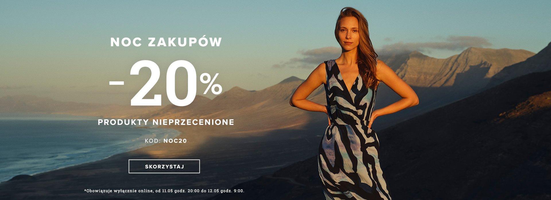 Greenpoint: 20% rabatu na odzież damską nieprzecenioną - Noc Zakupów