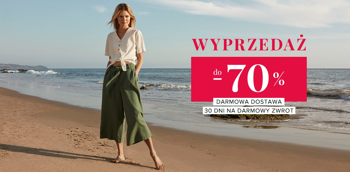 Greenpoint: wyprzedaż do 70% zniżki na odzież damską                         title=