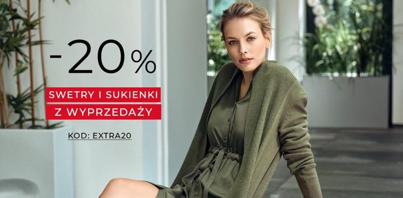 Greenpoint: 20% rabatu na swetry i sukienki z wyprzedaży                         title=