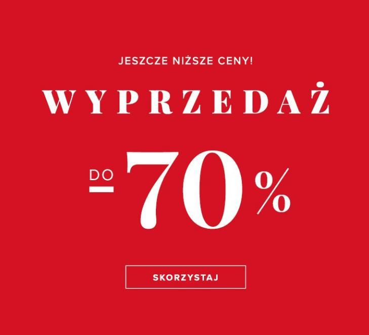 Greenpoint: wyprzedaż do 70% zniżki na odzież damską