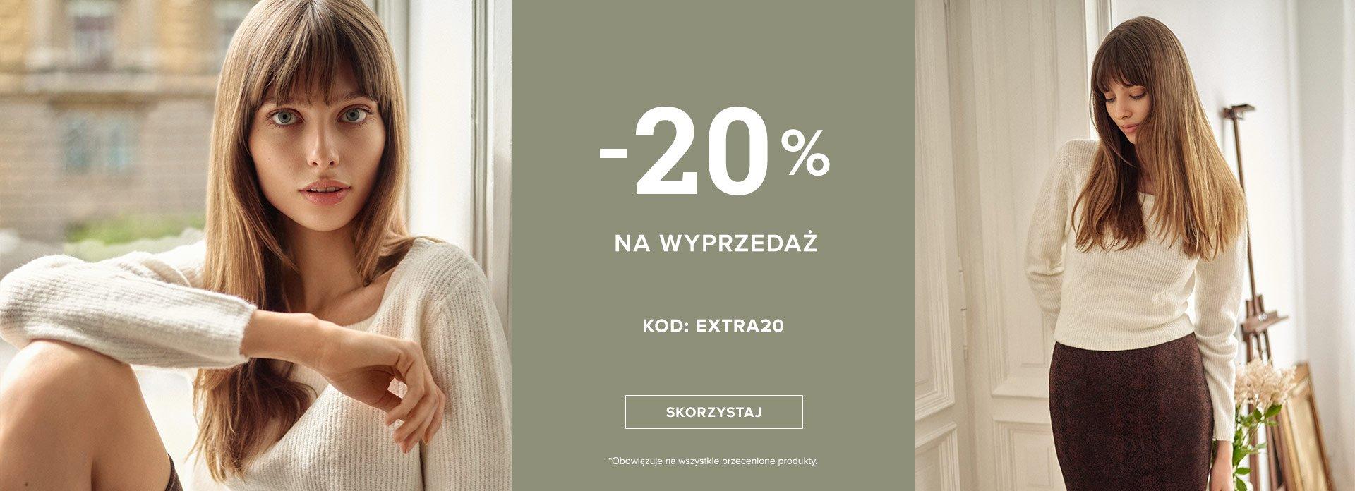 Greenpoint: dodatkowe 20% rabatu na odzież damską z wyprzedaży