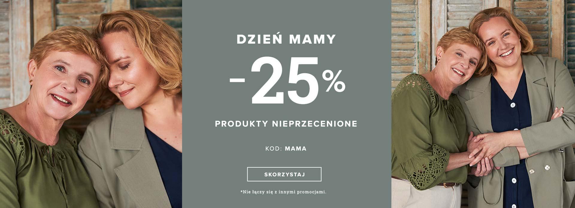 Greenpoint: 25% zniżki na produkty nieprzecenione z okazji Dnia Mamy