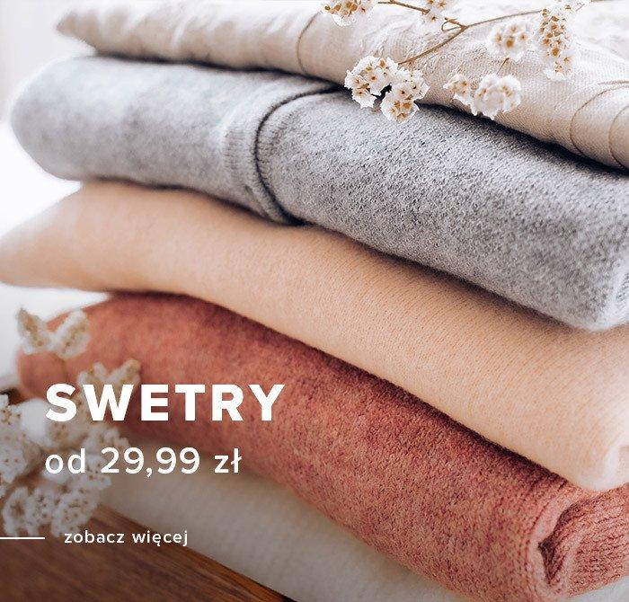 Greenpoint Greenpoint: swetry damskie od 29,99 zł