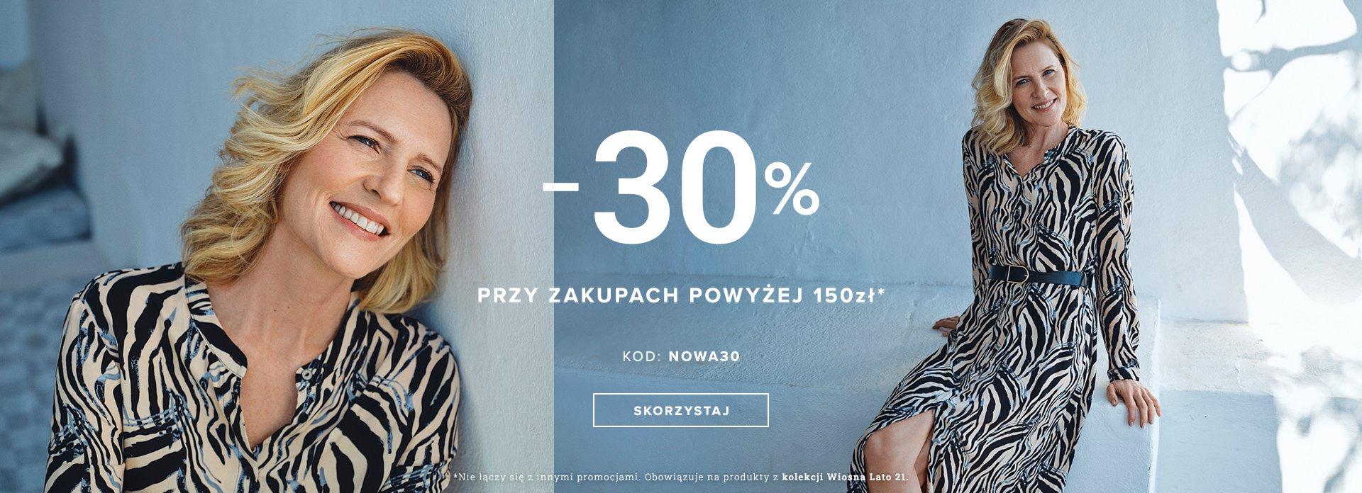 Greenpoint: 30% rabatu na odzież damską przy zakupach powyżej 150 zł
