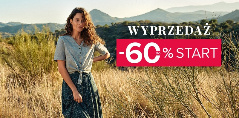 Greenpoint: wyprzedaż do 60% rabatu na odzież damską                         title=