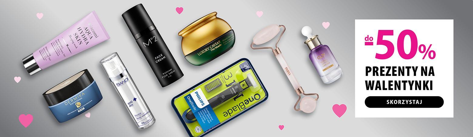 Hebe: do 50% rabatu na kosmetyki na prezent na Walentynki