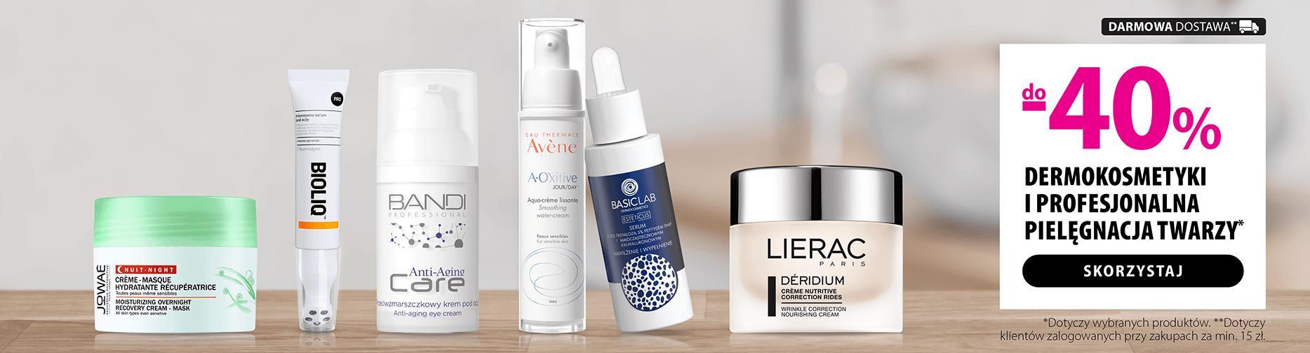 Hebe: do 40% zniżki na dermokosmetyki i kosmetyki do pielęgnacji twarzy