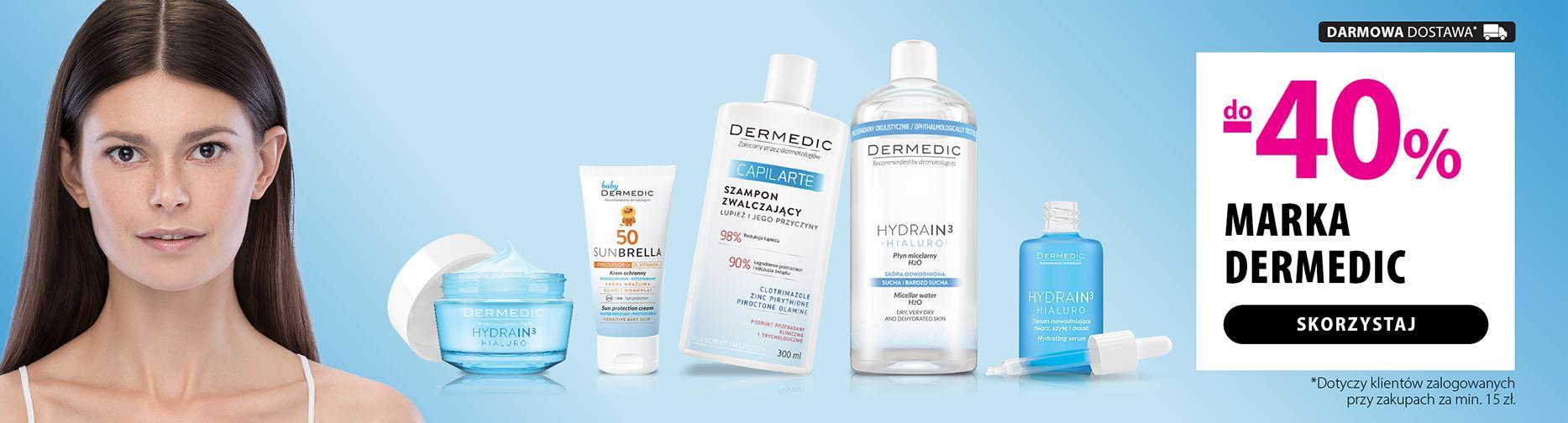 Hebe: do 40% zniżki na kosmetyki marki Dermedic